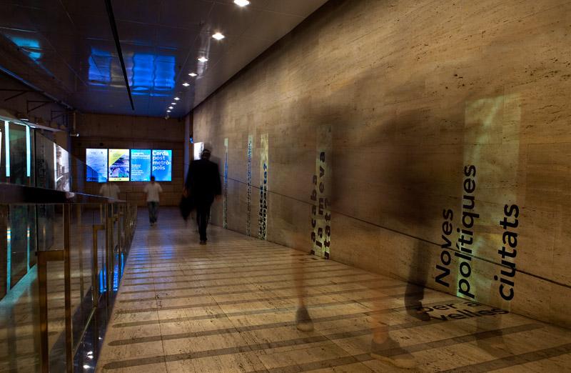 巴塞罗那当代文化中心国际大会环境图形设计©Meri Iannuzzi