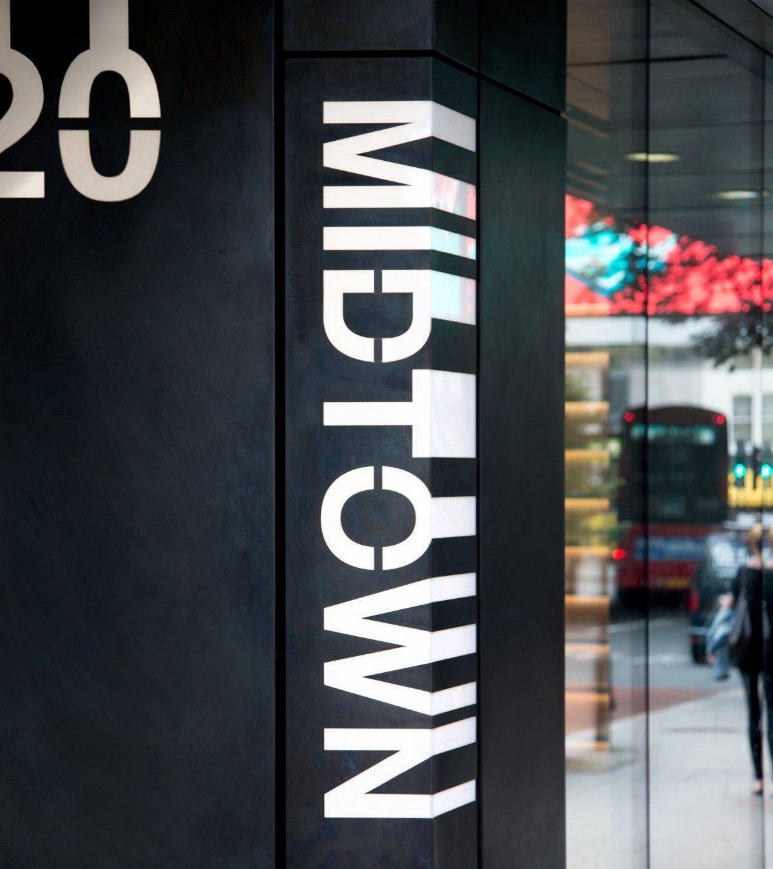 伦敦市中心办公场所导视系统设计©bibliothequedesign