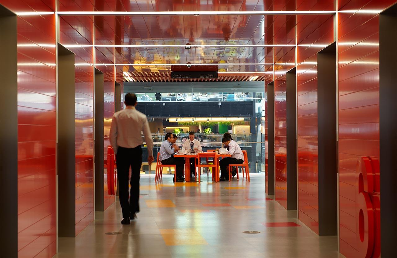 澳新银行总部环境图形设计©fabioongaratodesign