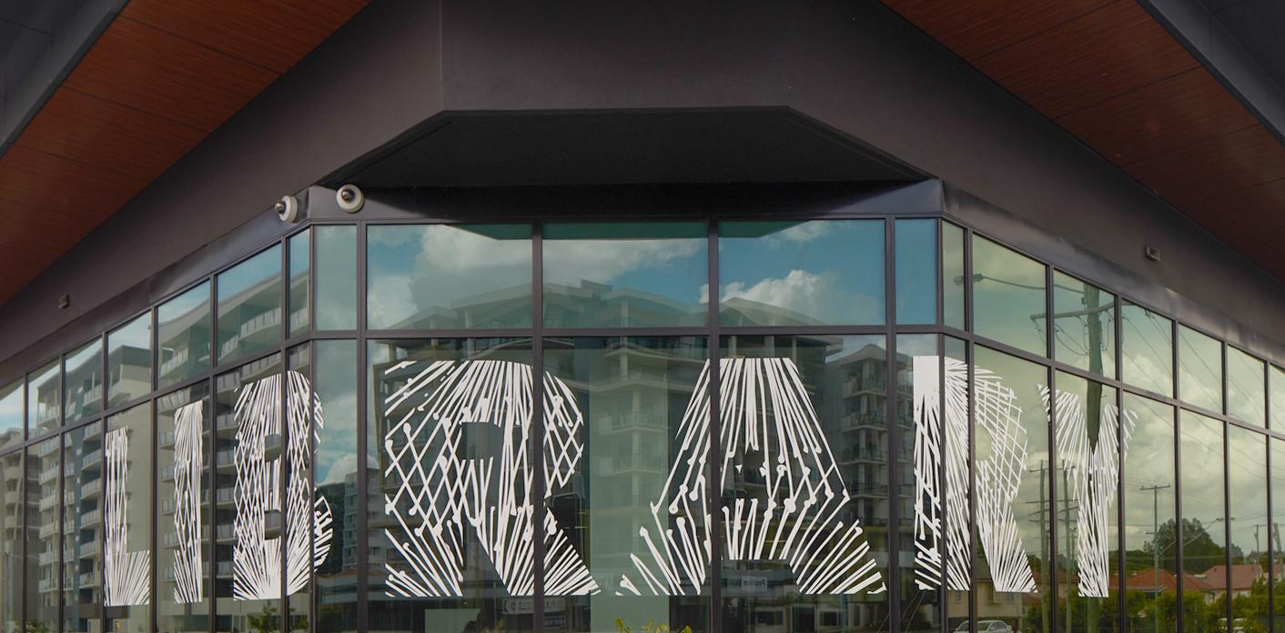 Chermside图书馆环境图形设计©dotdash