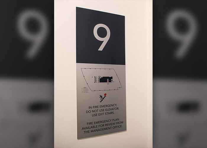 McKinney & Olive 办公大楼导视系统设计©focusegd