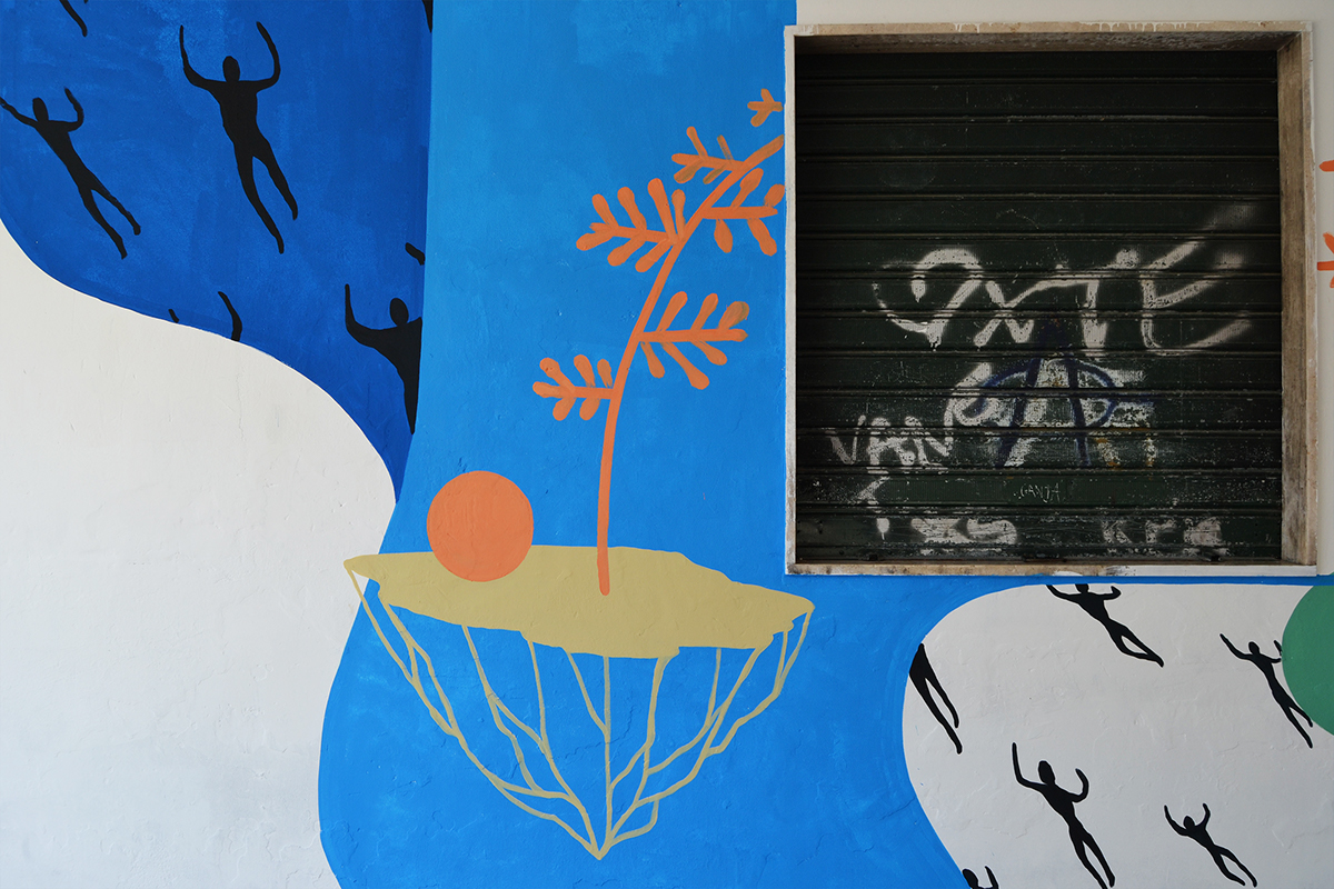 街头艺术之壁画设计©Patrizia Mastrapasqua&SKOLP