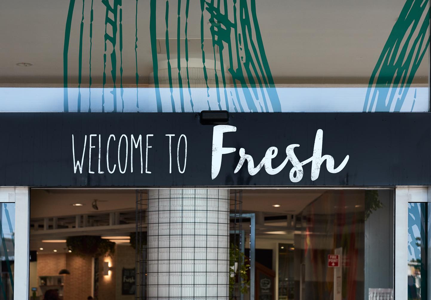 Strathpine生鲜食品中心导视系统设计©dovetaildesign
