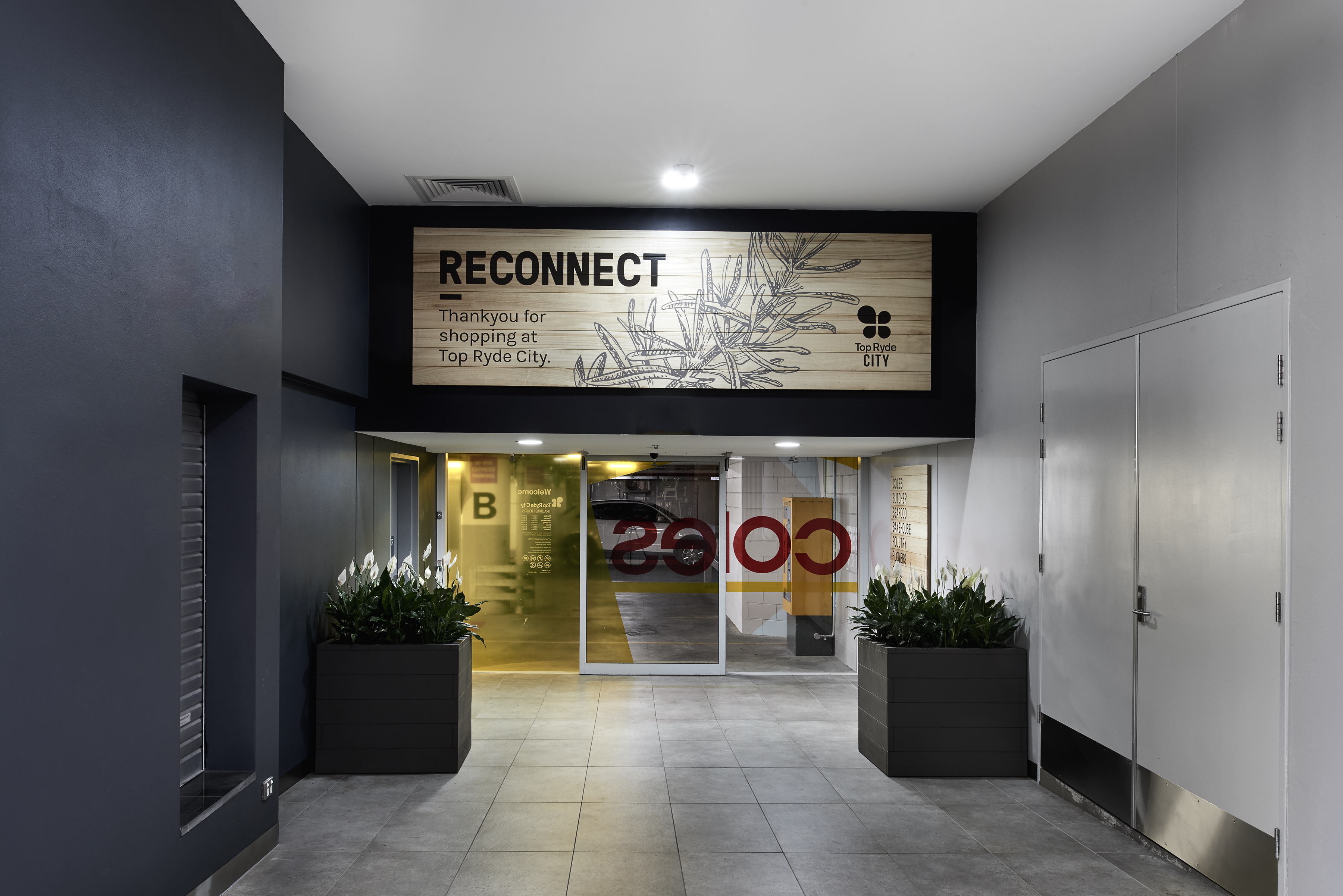 悉尼上莱德生鲜食品中心导视系统设计©dovetaildesign
