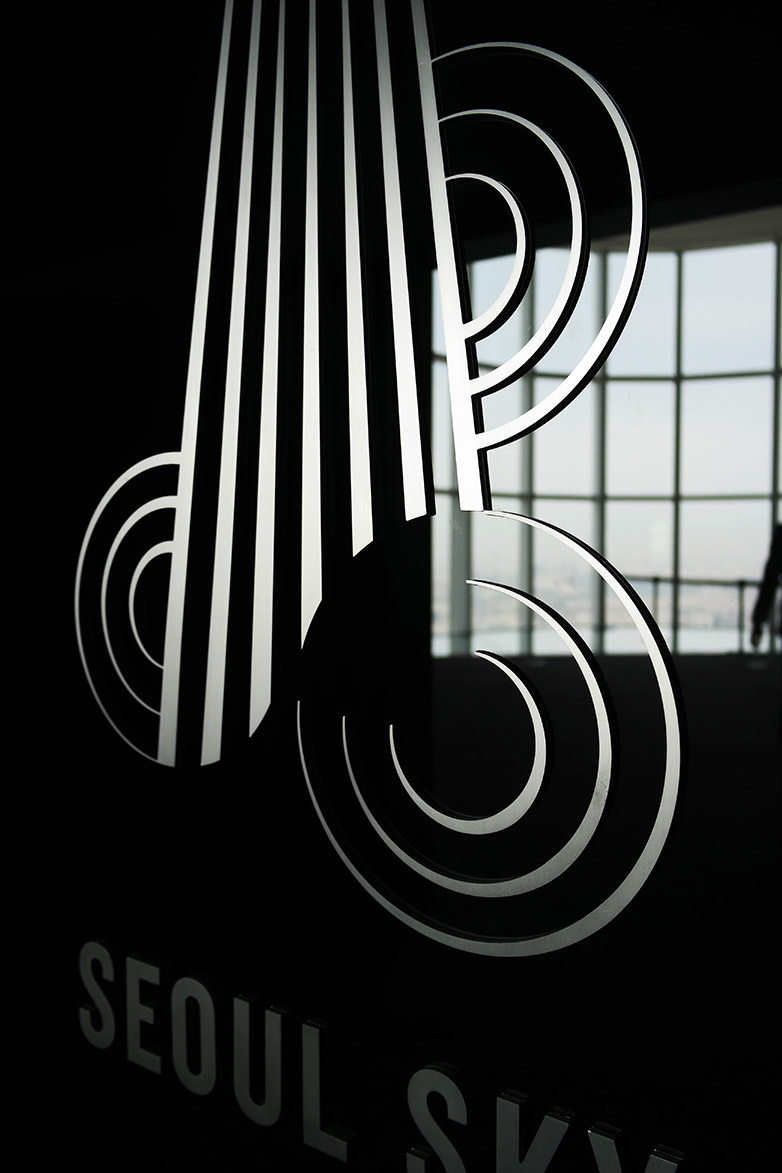 乐天世界塔瞭望台标识系统设计©Kukkwang plan