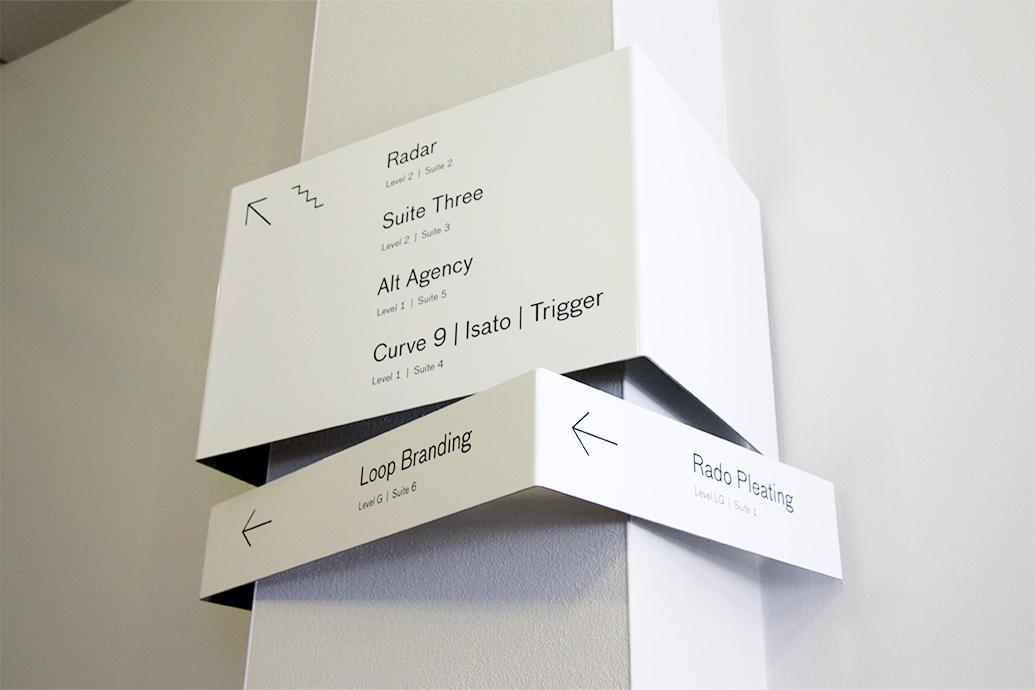 Rado House 导视系统设计© Trigger Design