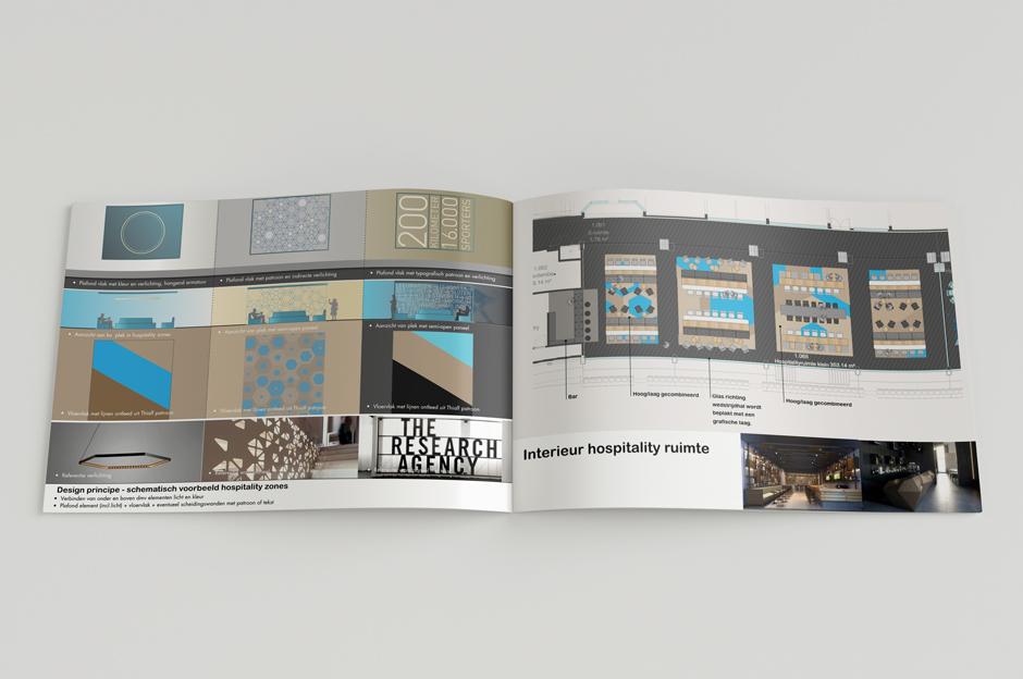 Thialf滑冰体育场视觉环境系统设计 ©DAY