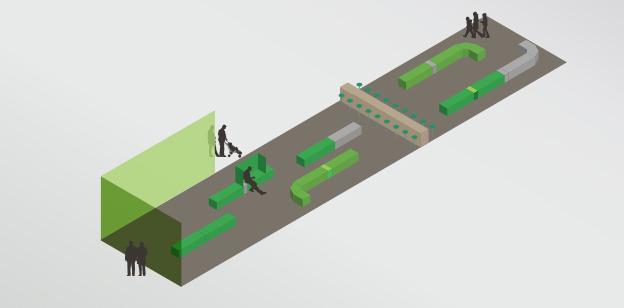 艾恩德霍芬机场环境图形设计 ©DAY