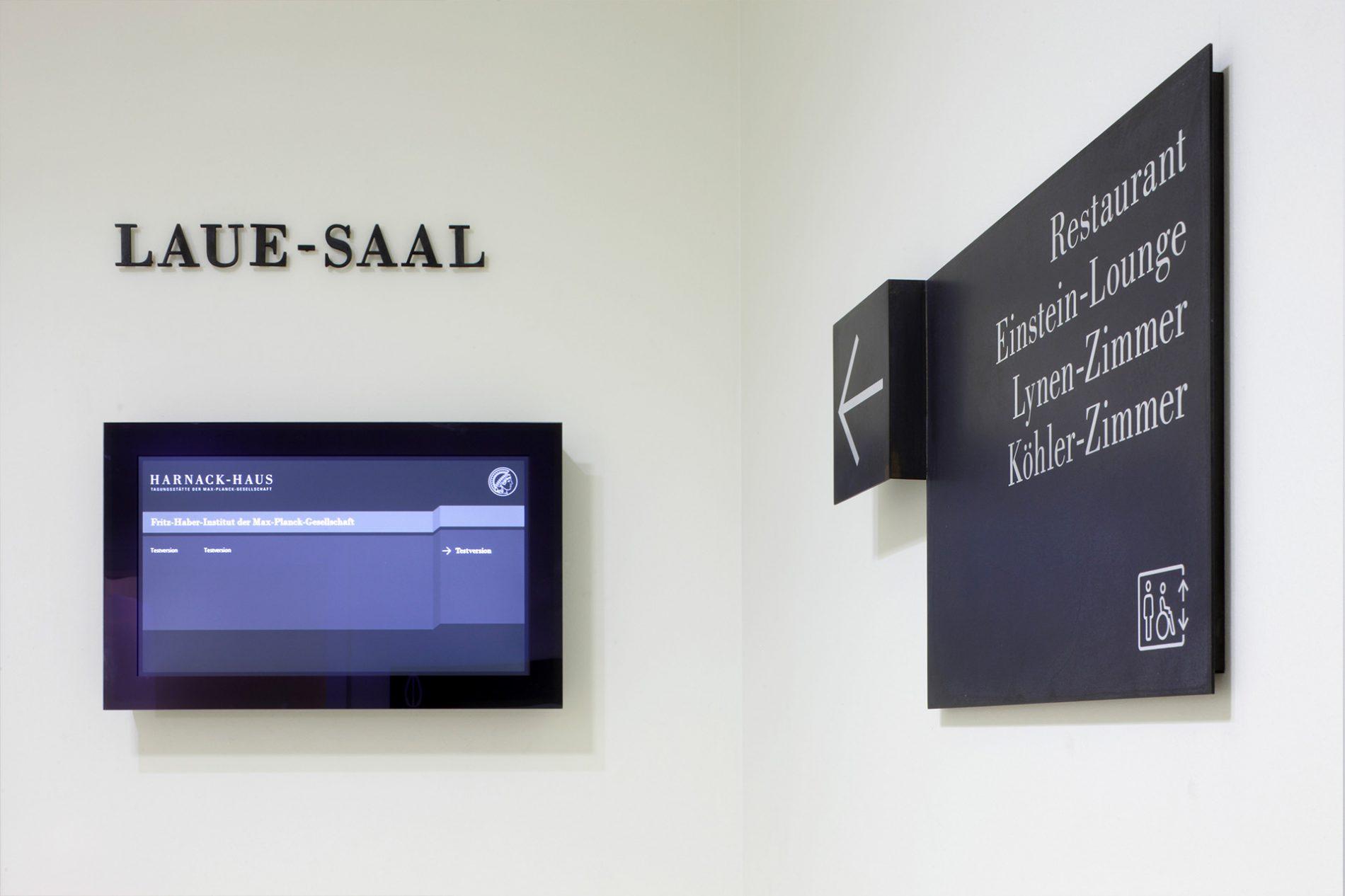 Harnack-Haus会议中心导视系统设计©KSV