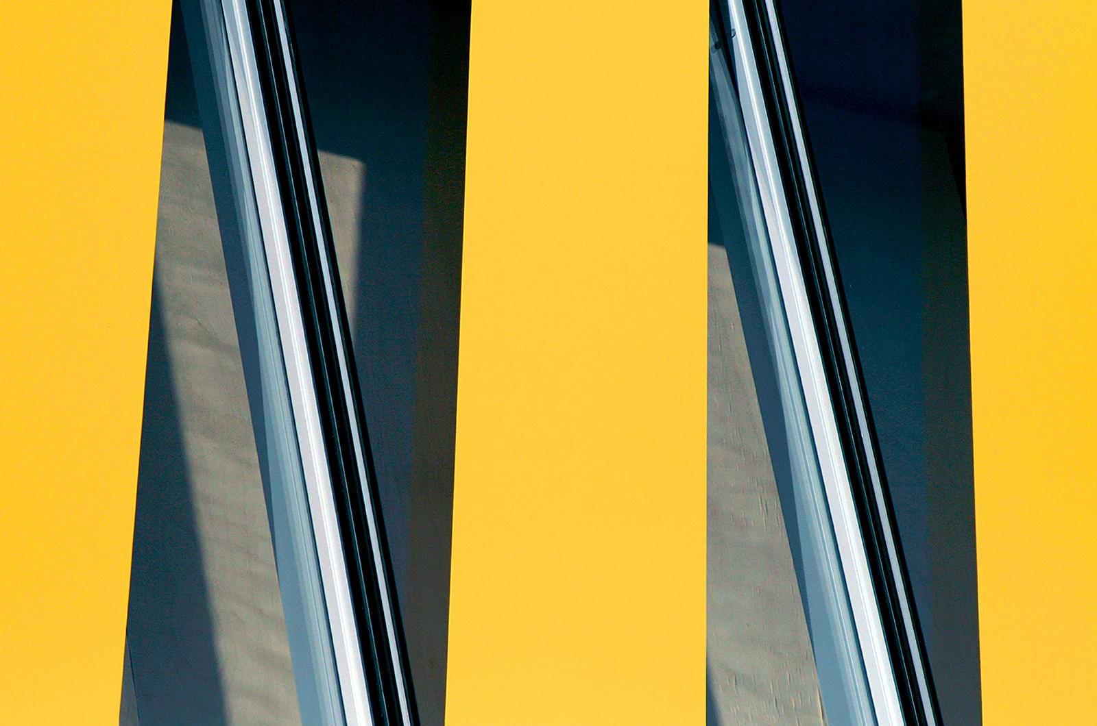 法国国家图书馆临时标牌 © polygraphik Studio
