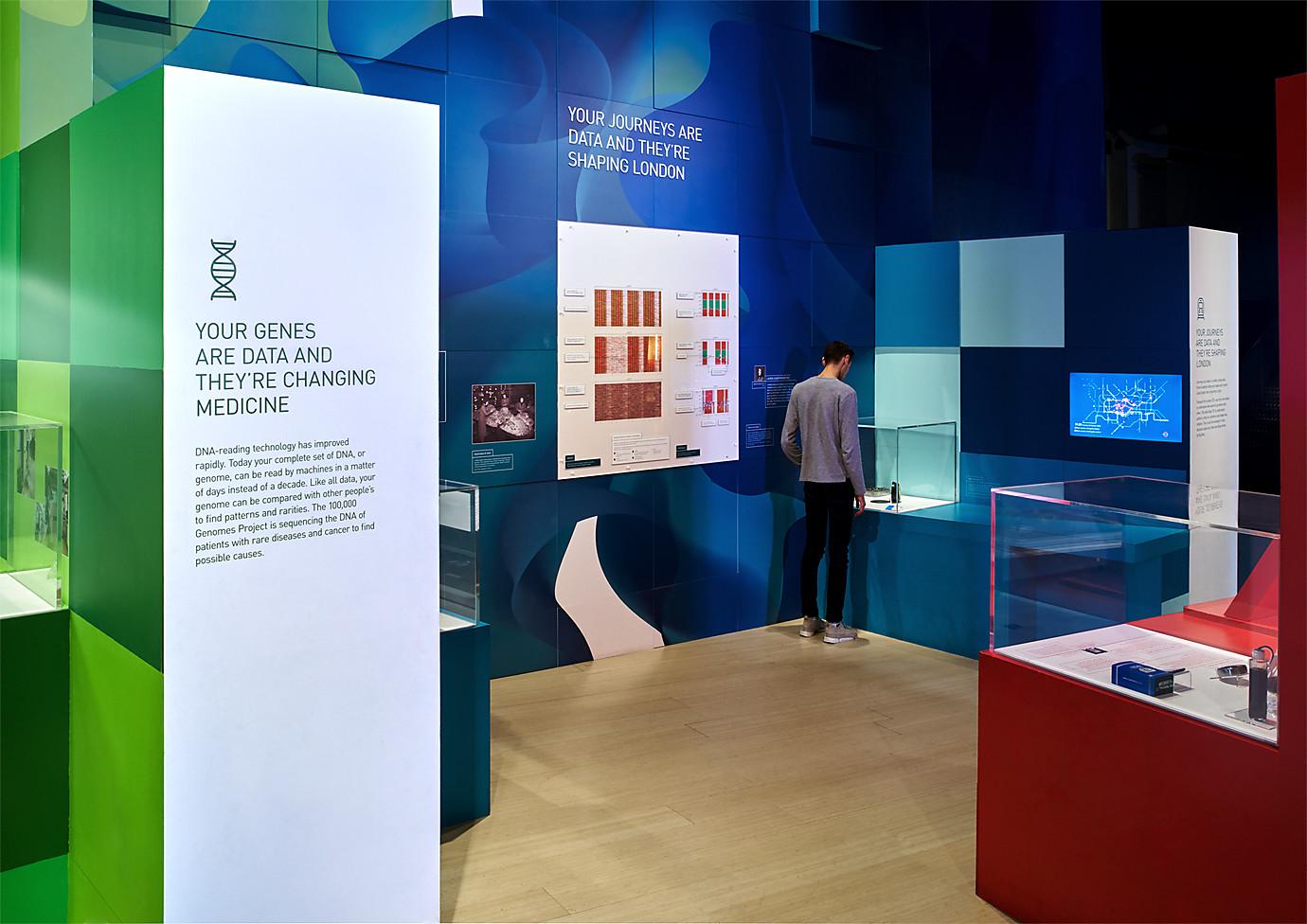 科学博物馆天线画廊设计 © Wiedemann Lampe