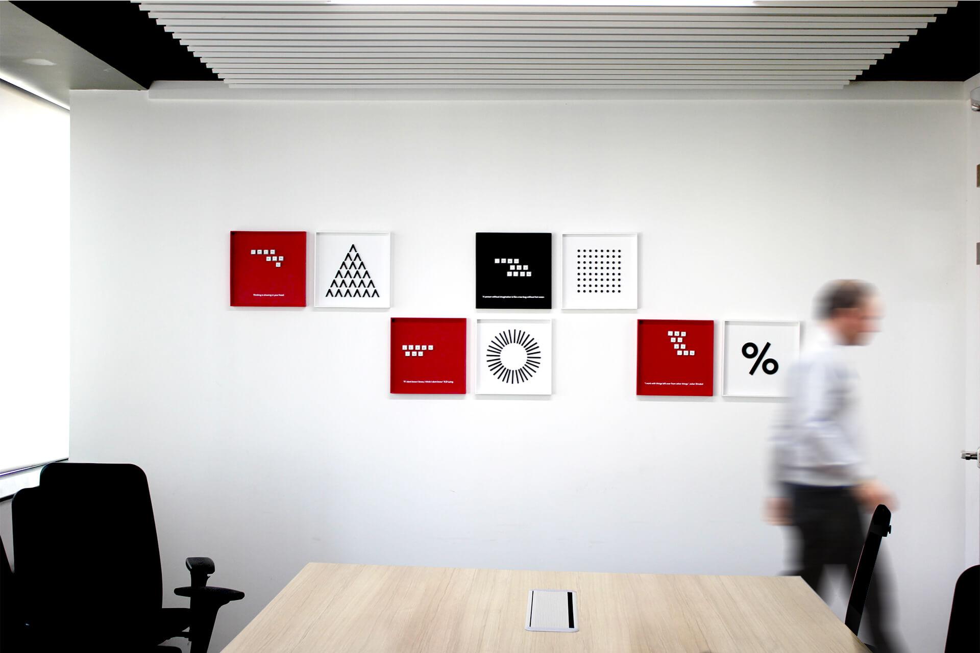 Talentica software 办公室图形设计© Leaf Design