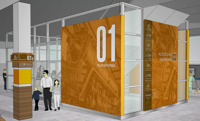 Estação BH 购物中心导视系统设计©CLA PROGRAMAÇÃO VISUAL