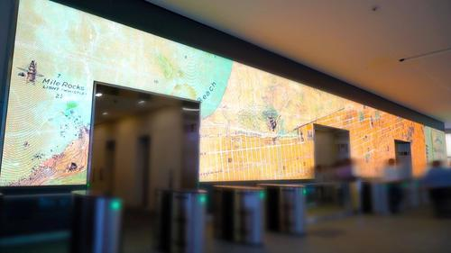 Salesforce Led Video Wall ©Gensler