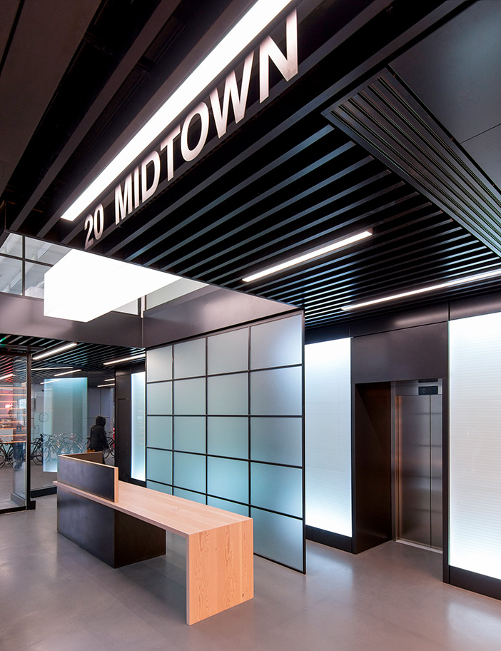 20 Midtown大楼标识系统设计©Aldworth James & Bond