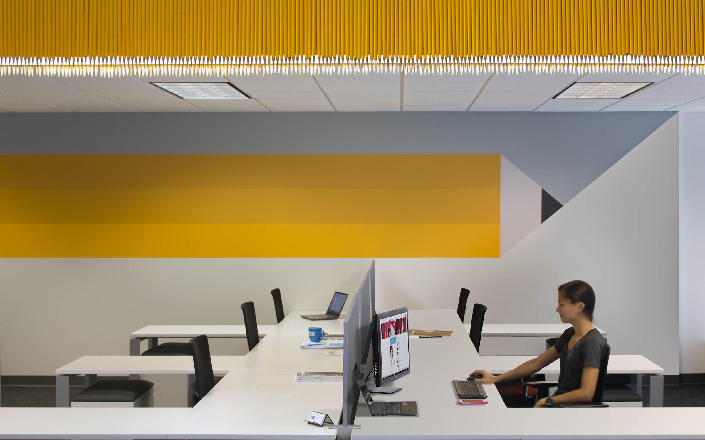 经济教育基金会环境图形设计©Lorenc+Yoo Design