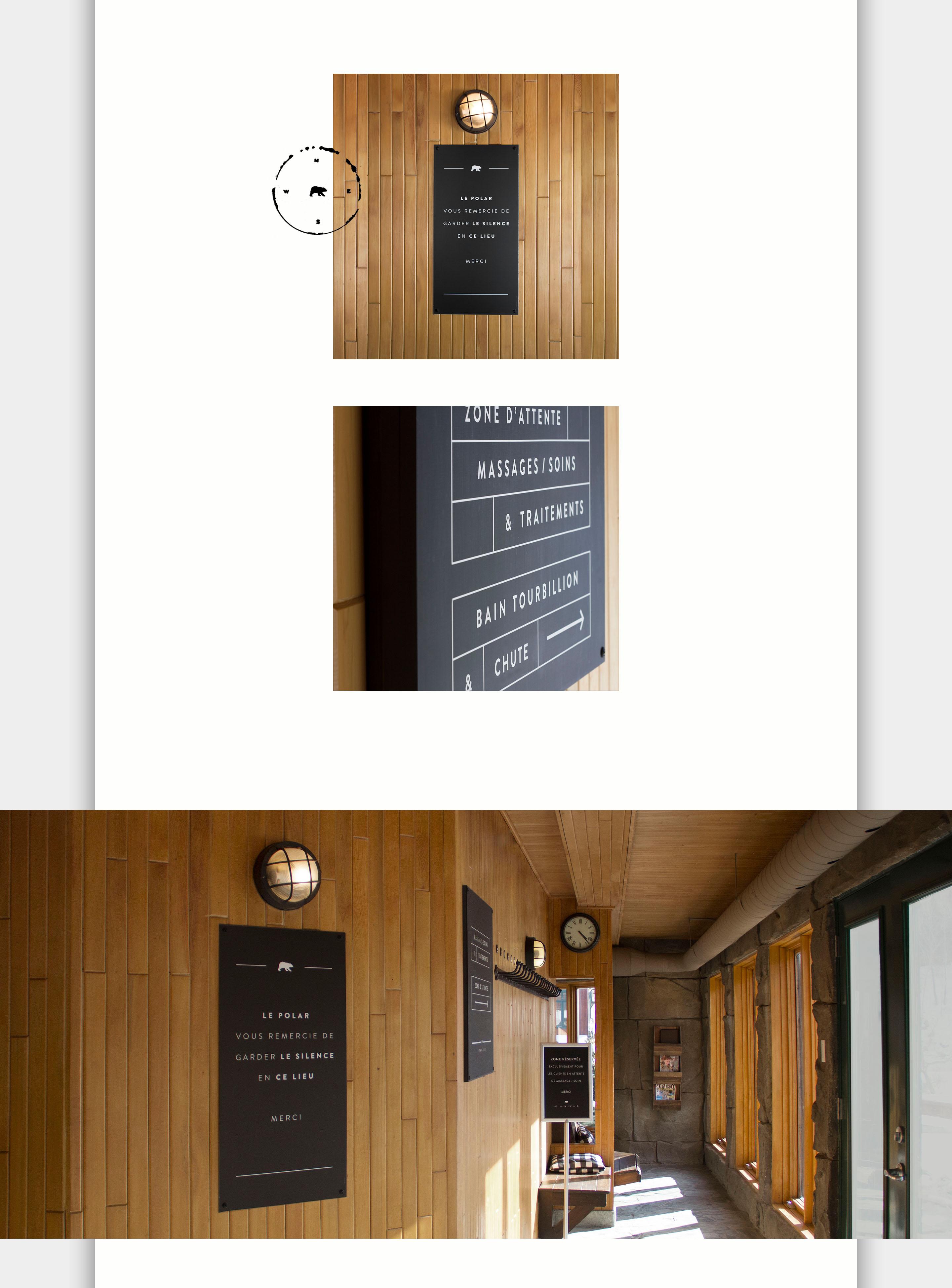 北极熊俱乐部导视系统设计© Leonardo Studio Design