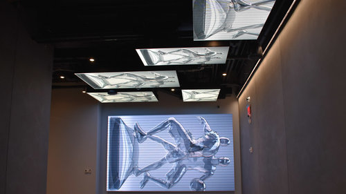 纽约总部LED视频显示器设计安装©SNA Displays
