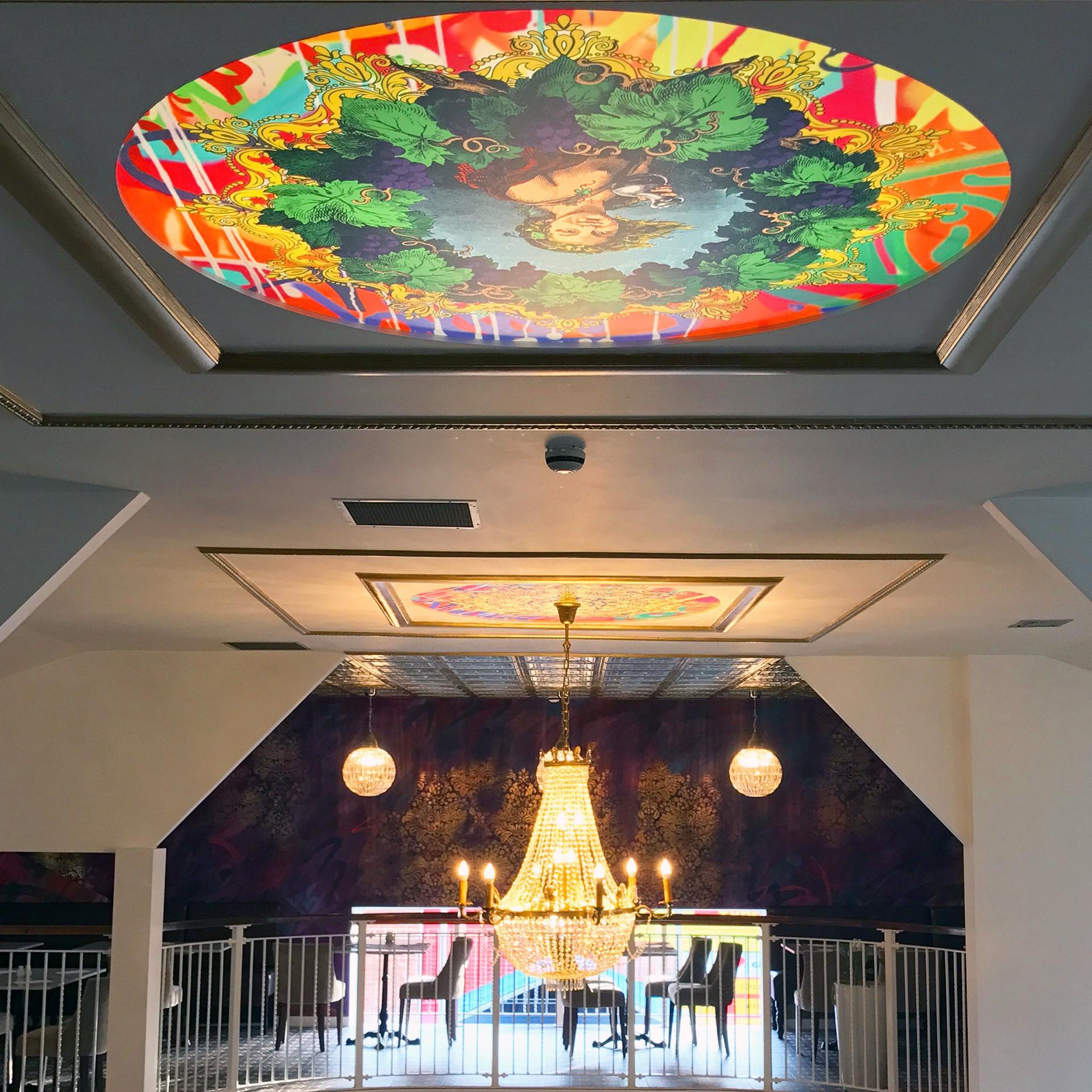 海滨餐厅环境图形设计©Soulful Creative