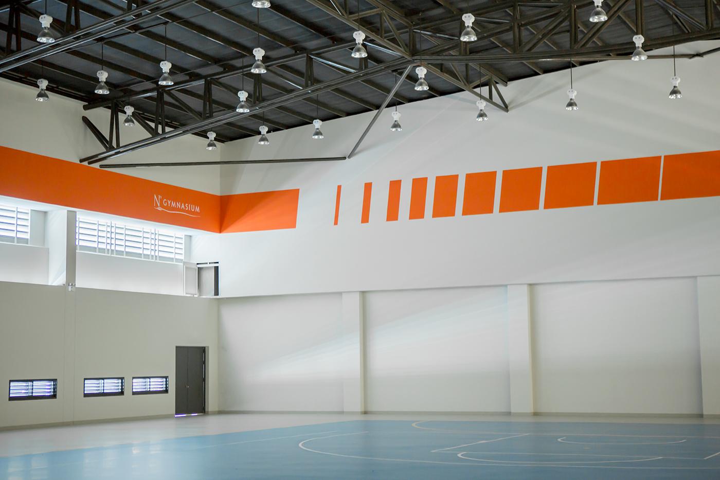 N°ARENA 运动馆导视系统设计© Dinsor