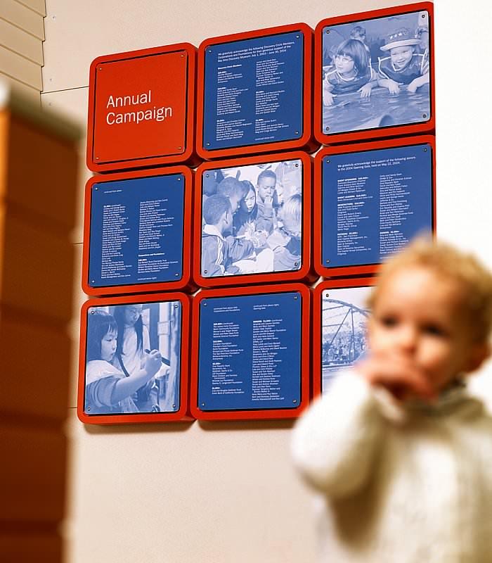 湾区发现博物馆标识系统设计© SOM