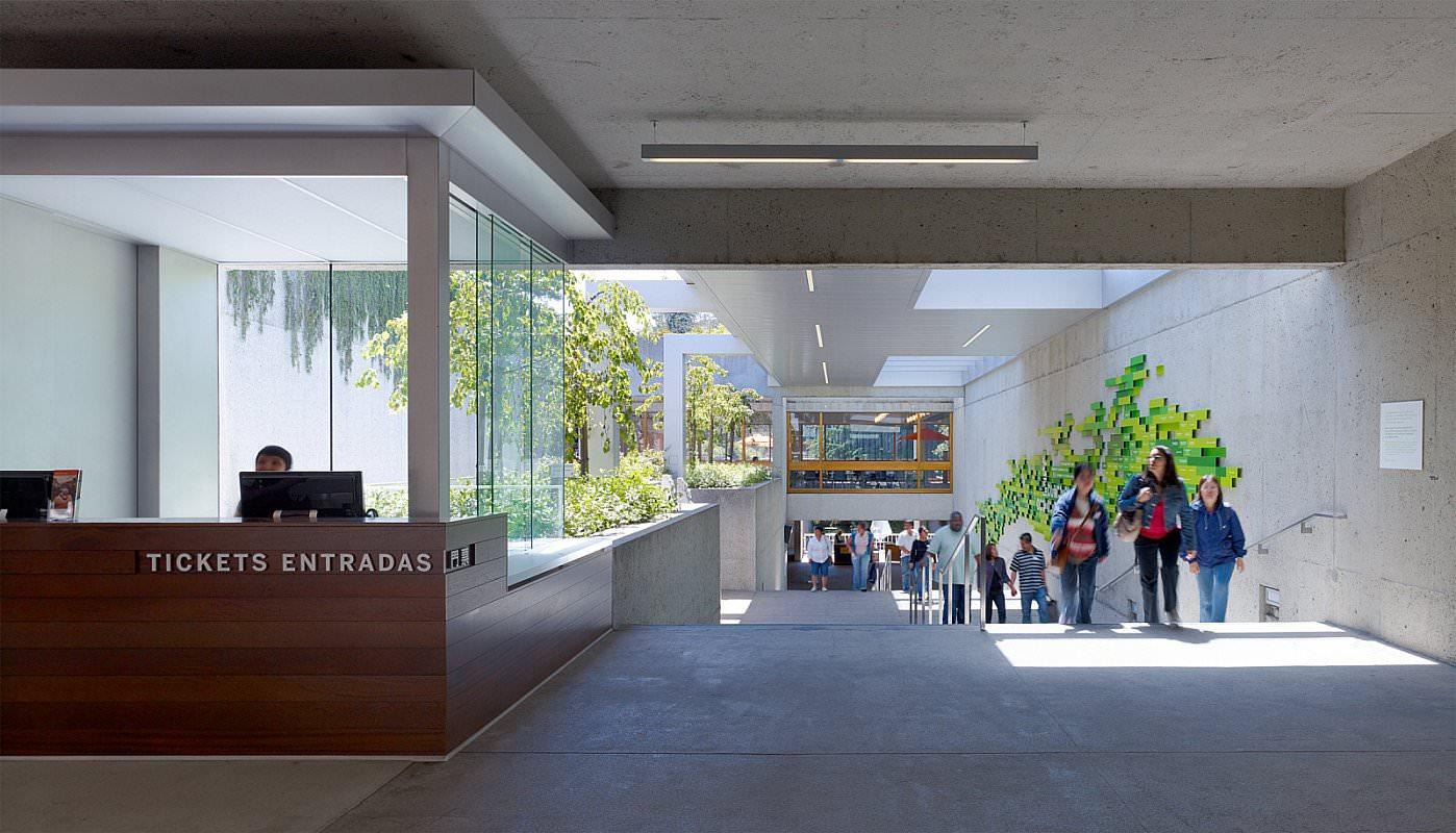 加州奥克兰博物馆环境图形设计©SOM