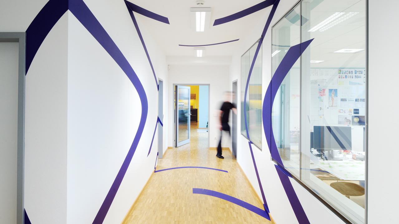 Feig & Partner办公室图形设计© Camille Le Lous* & Gourdin & Müller