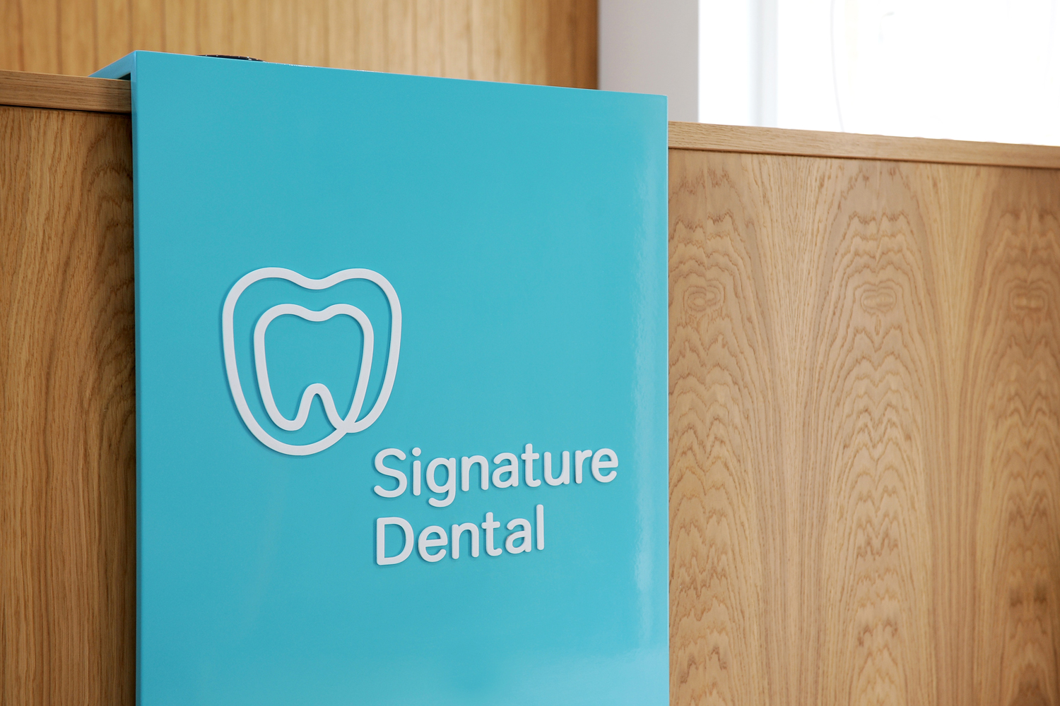 Signature Dental 品牌标识设计©2point3
