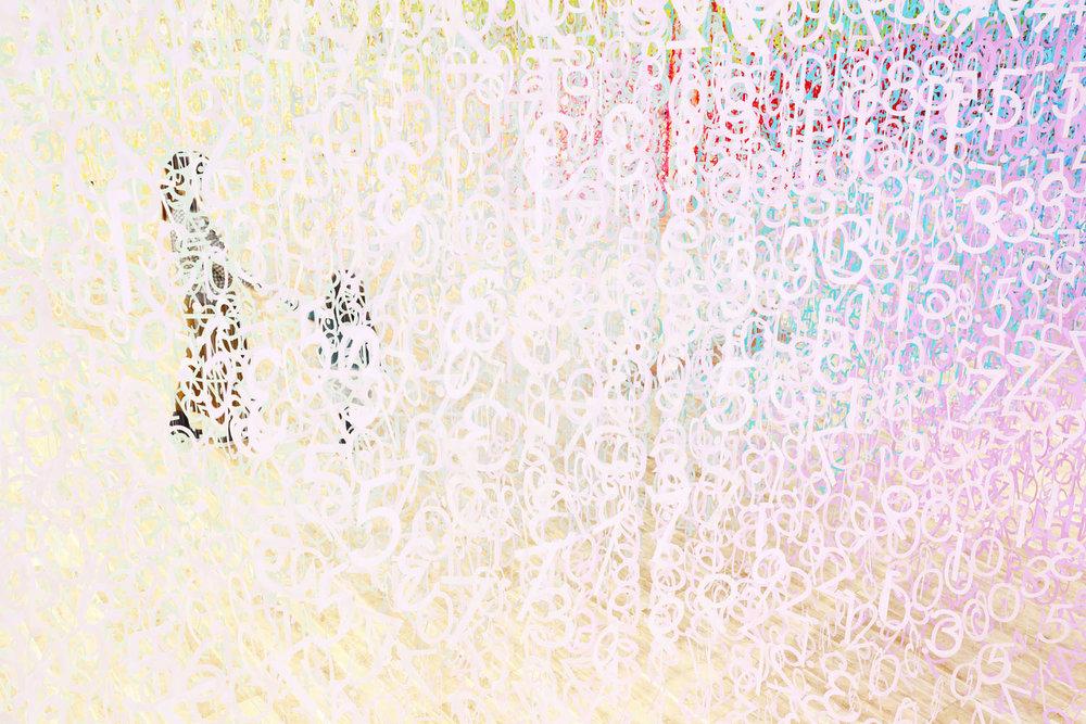"""富山县美术馆""""时间之色""""展览设计©Emmanuelle Moureaux"""