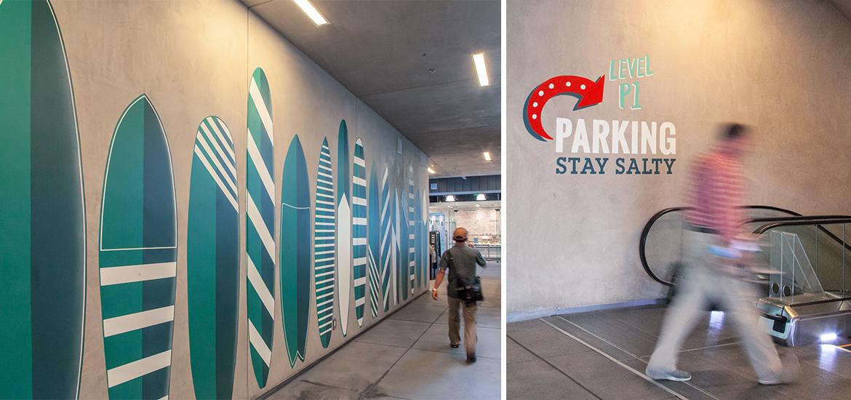 太平洋城标识设计© RSM design