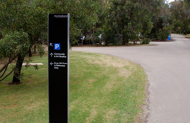 麦克莱兰雕塑公园导视设计©DAVID LANCASHIRE DESIGN
