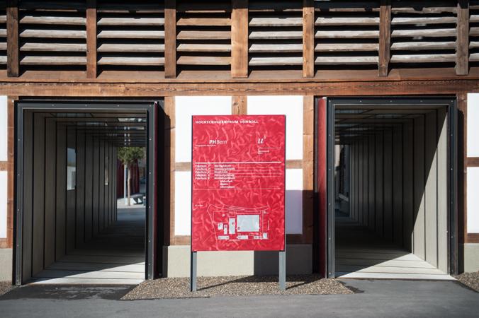 伯尔尼校园大楼标识设计©2. stock süd netthoevel & gaberthüel