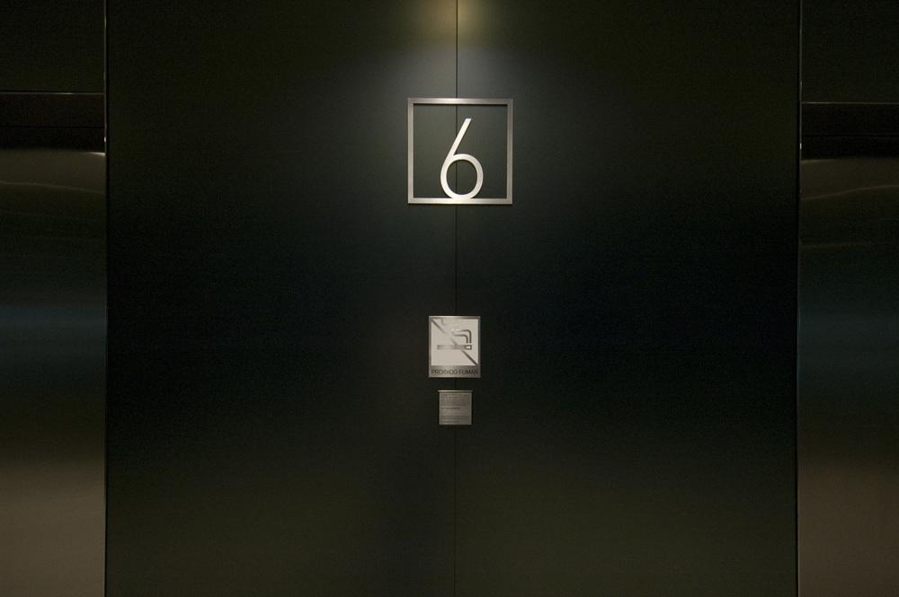 Jacarandá办公楼标识设计©nitsche
