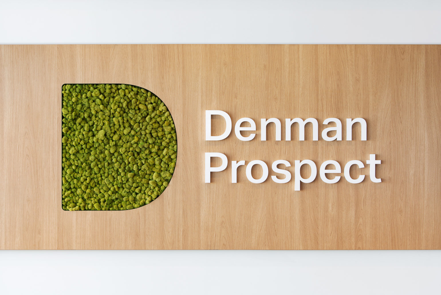 Denman Prospect 标识设计©  Swell Design Group