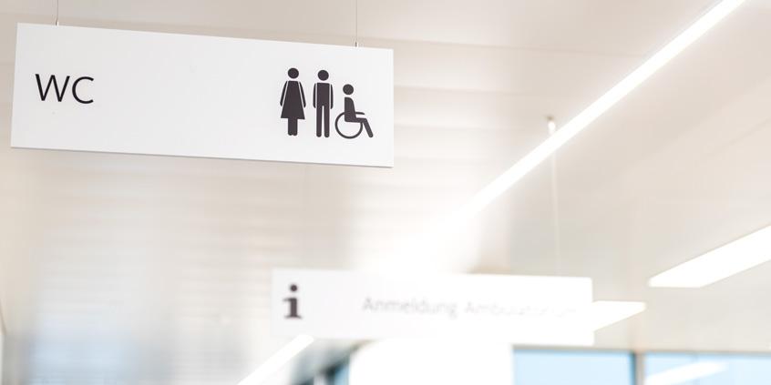 Spital Emmental 医院导视设计© neuzeichen
