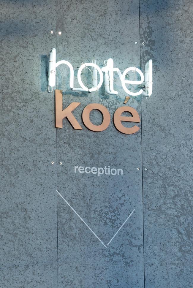 Hotel Koe Tokyo 酒店品牌标识系统设计©artless