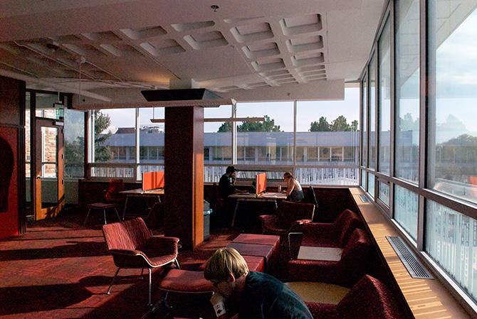 科罗拉多州大学摩根图书馆标识设计©Lisa Moses