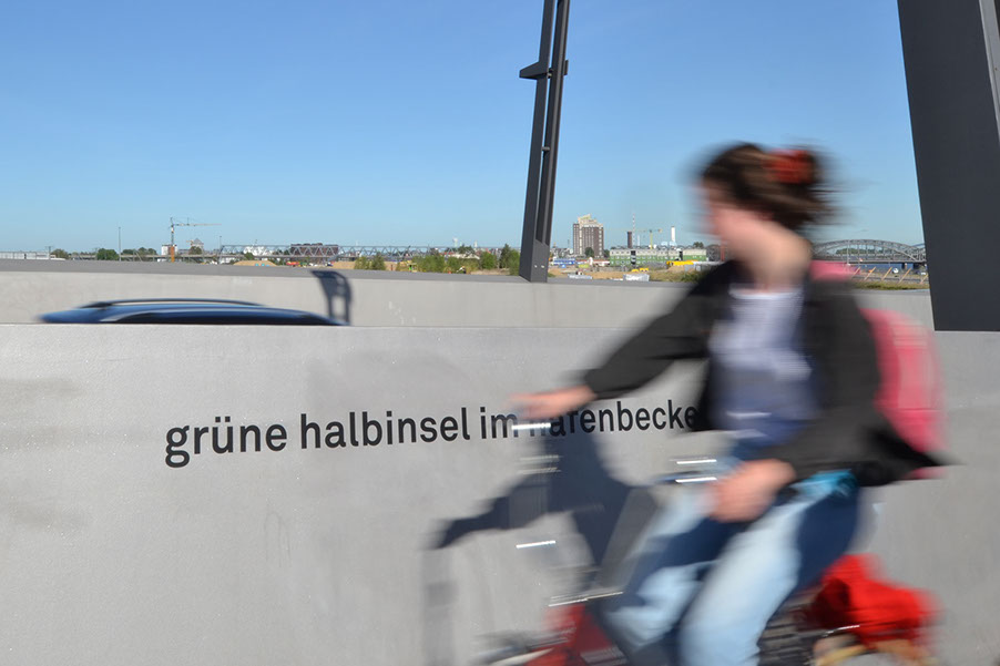 巴肯港大桥空间标识设计 ©filip antunovic