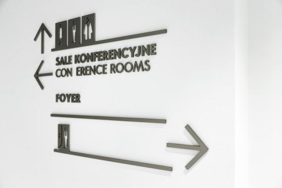 华沙英迪格酒店标识设计© ASP Katowice