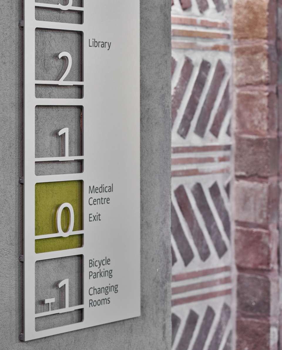 欧洲中央银行新办公楼标识设计©unit-design