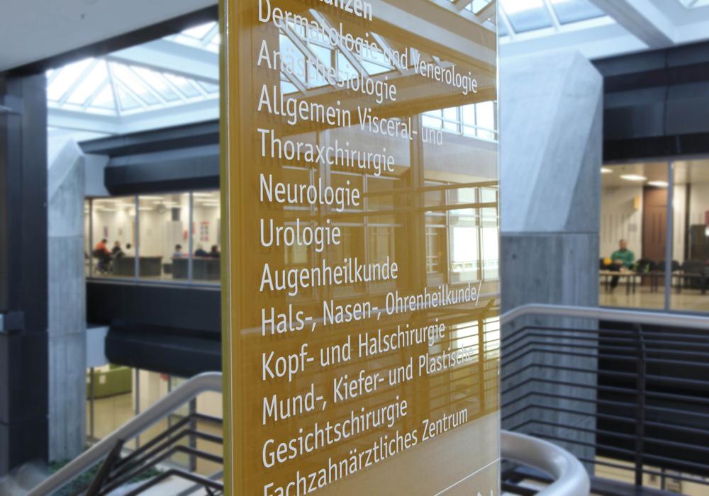 乌尔姆联邦军队医院导视设计©Braun Engels Gestaltung
