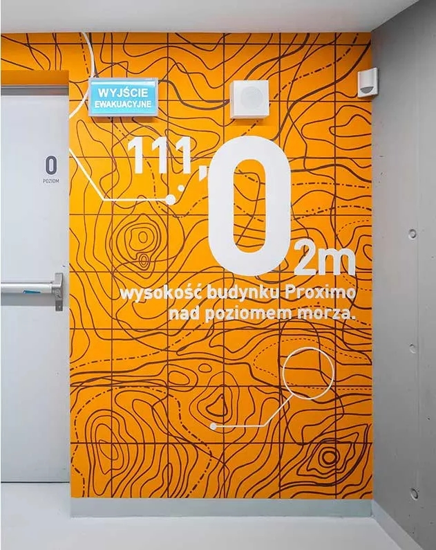 Proxima办公楼图形设计©kolektyf