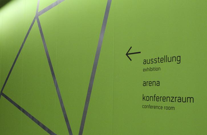 Umwelt Arena 展厅标识设计©CD3D