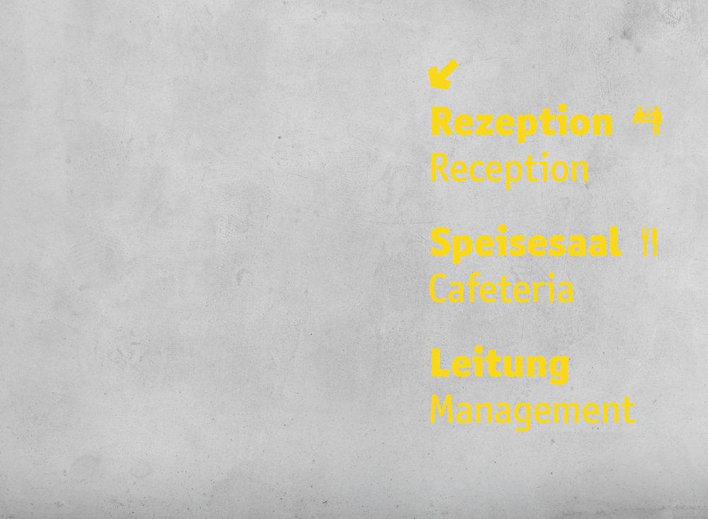 拜罗伊特青年旅馆标识设计©spaceagency