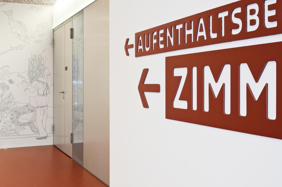 巴塞尔大学附属儿童医院标识设计©irb-zurich