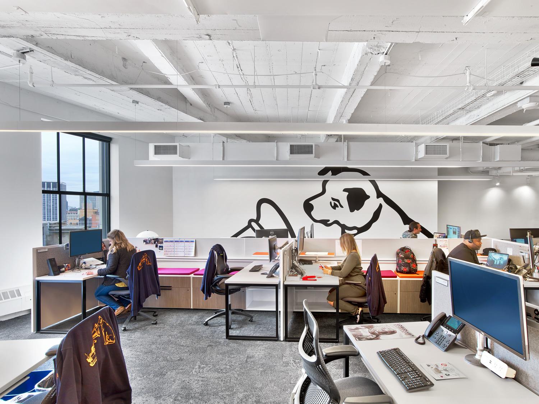 索尼(美国)新办公楼标识设计©airspace
