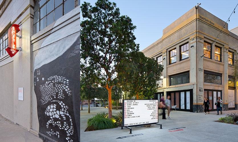 Row DTLA街区导视设计©Rios Clementi Hale Studios Rios Clementi Hale Studios