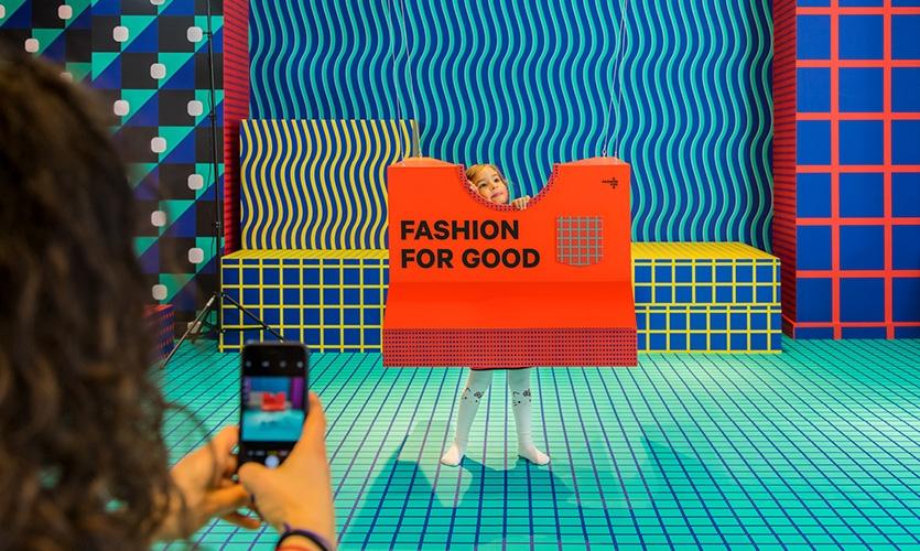可持续时装展览设计©Local Projects