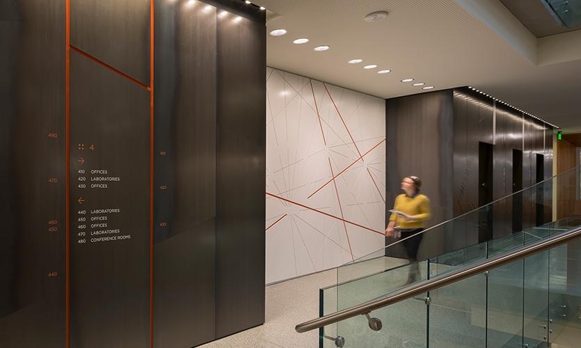 艾伦脑科学研究所场所标识设计©Studio SC