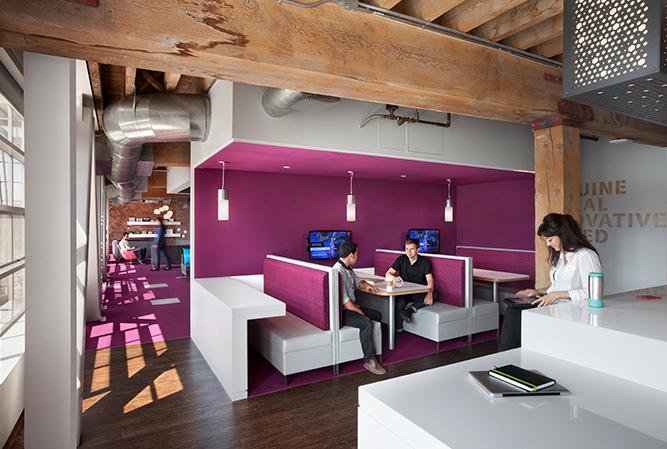 Adobe办公楼空间图形设计© Media Objectives